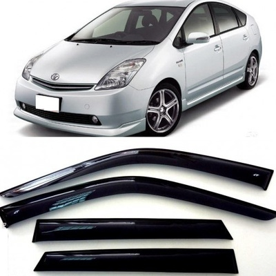 Дефлекторы боковых Окон на Тойота Приус 2 (NHW20)- Toyota Prius 2 (NHW20) 2004-2009