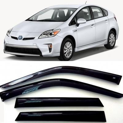 Дефлекторы боковых Окон на Тойота Приус 3 - Toyota Prius 2009-2017