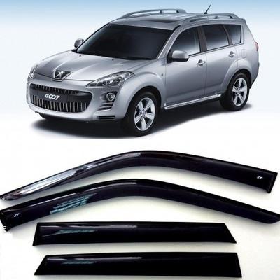 Дефлекторы боковых Окон на Пежо 4007 - Peugeot 4007 2007-2013