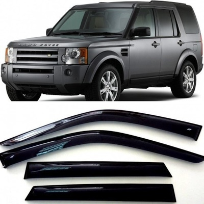 Дефлекторы боковых Окон на Ленд Ровер Дискавери 3 - Land Rover Discovery 3 2004-2009