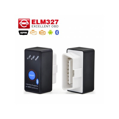 Диагностический Адаптер ELM327 Bluetooth MINI - OBD-2 с Кнопкой Русская Версия