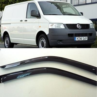 Дефлекторы боковых Окон на Фольксваген Транспортер (Т5) - Volkswagen Transporter (T5) 2003-2017