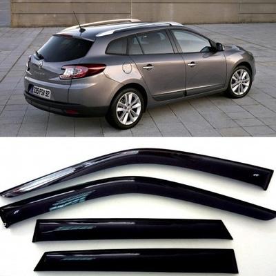 Дефлекторы боковых Окон на Рено Меган 3 Грандтур - Renault Megane 3 Grandtour