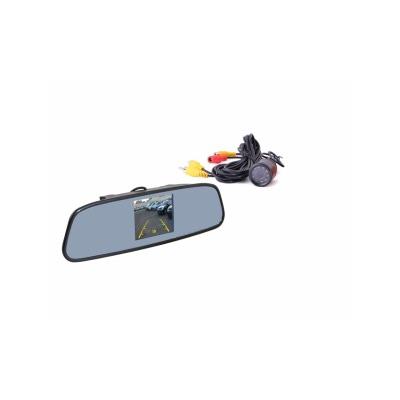 Зеркало заднего вида с TFT 4,3 монитором+камера TFT748S