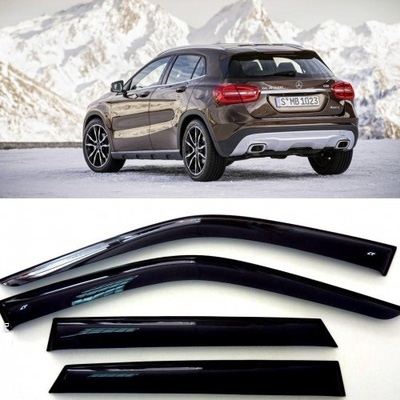 Дефлекторы боковых Окон на Мерседес Бенц GLA-класс - Mercedes Benz GLA-Klasse