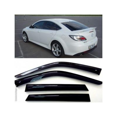 Дефлекторы боковых Окон на Мазда 6 Хэтчбек - Mazda 6 Hb 5d 2007-2012