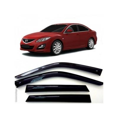Дефлекторы боковых Окон на Мазда 6 Седан - Mazda 6 Sd 2012-2015