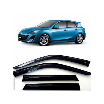 Дефлекторы боковых Окон на Мазда 3 Хэтчбек - Mazda 3 Hb 2009-2013