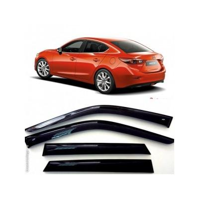Дефлекторы боковых Окон на Мазда 3 Седан - Mazda 3 Sd 2014-2015