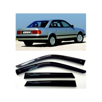 Дефлекторы боковых Окон на Ауди 100 Седан - Audi 100 Sd (4A,C4) 1990-1997