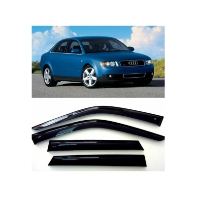 Дефлекторы боковых Окон на Ауди А4 Седан - Audi A4 Sd (B6/B7/8E) 2000-2008