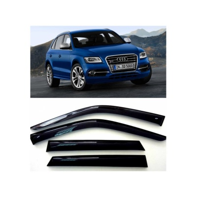 Дефлекторы боковых Окон на Ауди Q5 5д - Audi Q5 5d (8R) 2008
