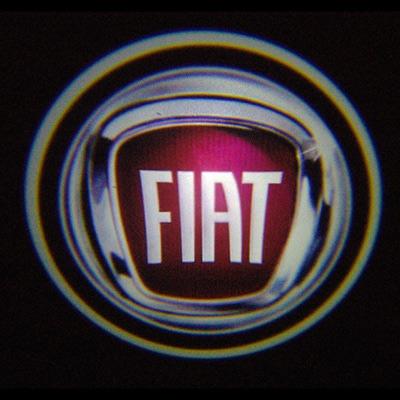 Подсветка для дверей с Логотипом Фиат (Fiat)