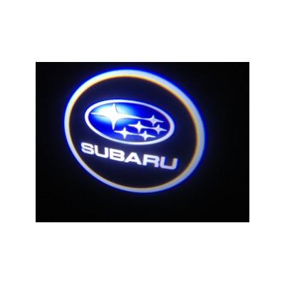 Подсветка для дверей с Логотипом Субару