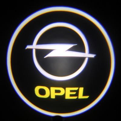 Подсветка для дверей с Логотипом Опель