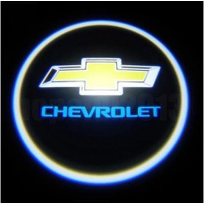 автомобильная подсветка дверей chevrolet