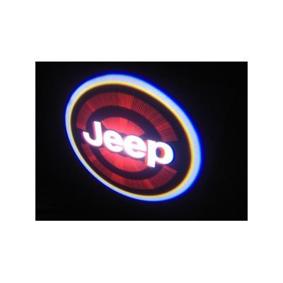 Подсветка для дверей с Логотипом Джип