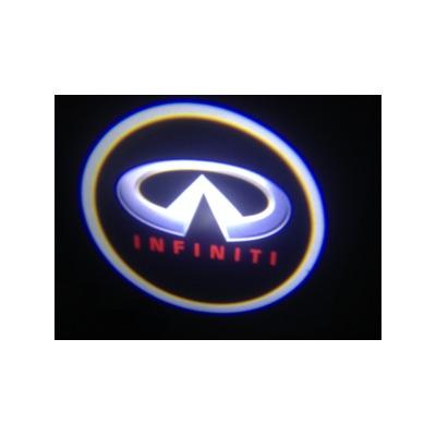 Подсветка для дверей с Логотипом Инфинити