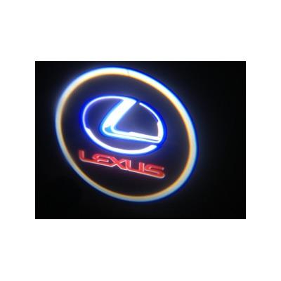 Подсветка для дверей с Логотипом Лексус Lexus