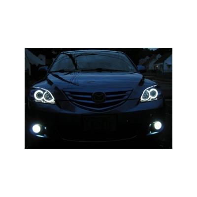 Ангельские глазки CCFL для Mazda 3