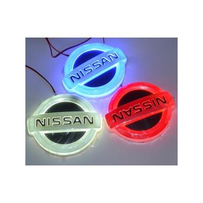 Светящаяся 4D Авто Эмблема Нисан (Nissan)