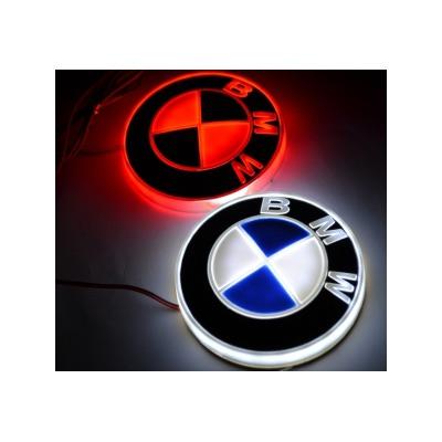 Светящаяся 4D Авто Эмблема БМВ (BMW)