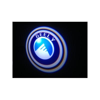 Подсветка для дверей с Логотипом Джили (Geely)
