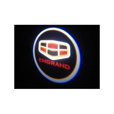 Подсветка для дверей с Логотипом Эмгранд (Emgrand)