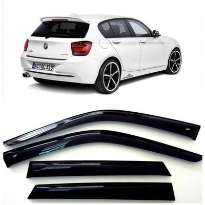 Дефлекторы боковых Окон на БМВ 1 - BMW 1 (F20) 5d 2011