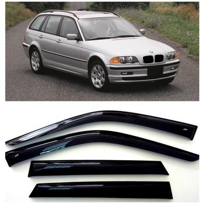 Дефлекторы боковых Окон на БМВ 3 Вэгон - BMW 3 Wagon (E46) 1998-2005