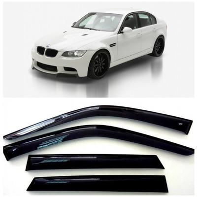 Дефлекторы боковых Окон на БМВ 3 Седан - BMW 3 Sd (E90) 2005-2012