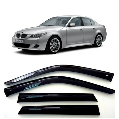 Дефлекторы боковых Окон на БМВ 5 Седан - BMW 5 Sd (E60) 2002-2010