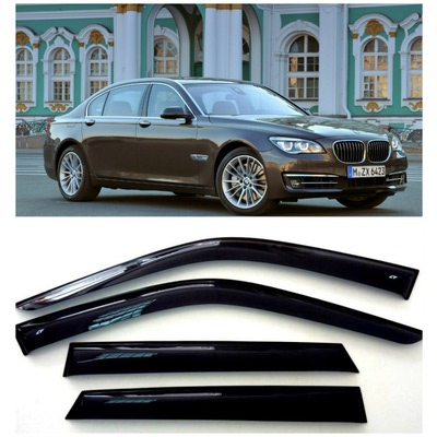 Дефлекторы боковых Окон на БМВ 7 Седан - BMW 7 Sd (F02/F04) Long 2008-2015