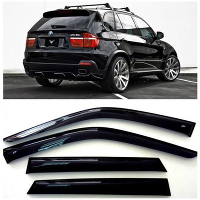 Дефлекторы боковых Окон на БМВ Х5 - BMW X5 (E70) 2006-2013