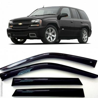 Дефлекторы боковых Окон на Шевроле Триалблейзер - Chevrolet Trialblazer 2002-2011