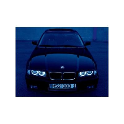 Ангельские глазки на BMW E36, E38, E39, Е46 projector