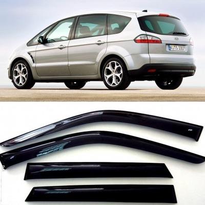 Дефлекторы боковых Окон на Форд Си-Макс - Ford S-Max 2006-2010