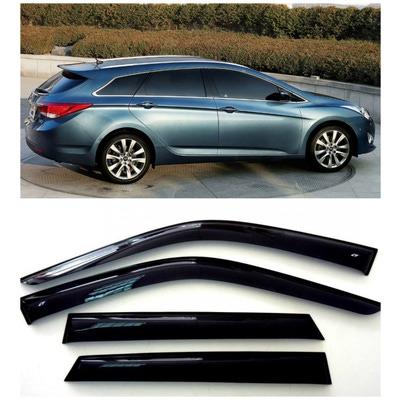 Дефлекторы боковых Окон на Хендай i40 Универсал - Hyundai i40 Wagon 2011-2015