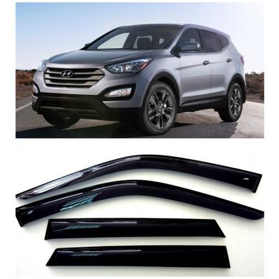 Дефлекторы боковых Окон на Хендай Санта Фе 3 - Hyundai Santa Fe 3 2012-2015