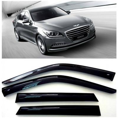 Дефлекторы боковых Окон на Хендай Генезис Седан - Hyundai Genesis Sd (DH) 2013-2015