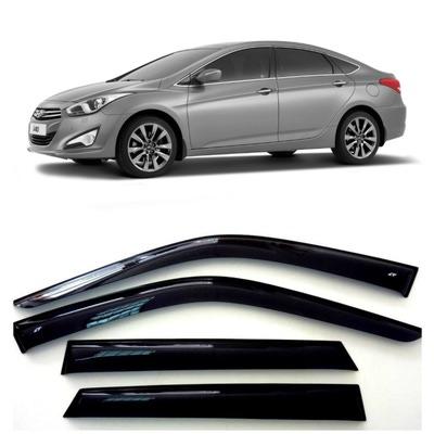 Дефлекторы боковых Окон на Хендай i40 Седан - Hyundai i40 Sd 2011-2015
