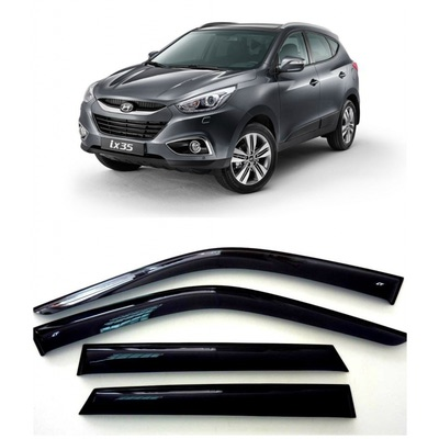 Дефлекторы боковых Окон на Хендай ix35 - Hyundai ix35 2010-2015