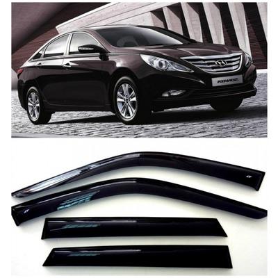 Дефлекторы боковых Окон на Хендай Соната 6 Седан - Hyundai Sonata 6 Sd 2009-2014