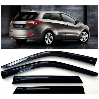 Дефлекторы боковых Окон на Хендай i30 2 Универсал - Hyundai i30 2 Wagon 2012-2015