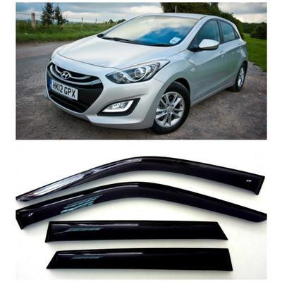 Дефлекторы боковых Окон на Хендай i30 1 Хэтчбек - Hyundai i30 1 Hb 5d 2007-2012