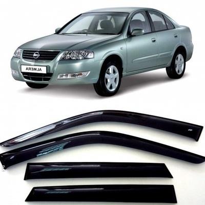 Дефлекторы боковых Окон на Ниссан Альмера Классик (N17) - Nissan Almera Classic (N17) 2006-2013