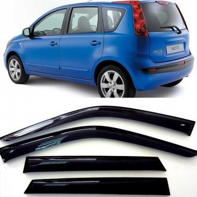 Дефлекторы боковых Окон на Ниссан Ноут (E11) - Nissan Note (E11) 2005-2013