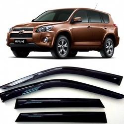 Дефлекторы боковых Окон на Тойота Рав 4 - Toyota Rav 4 5d 2006-2012