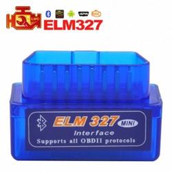 Диагностический Адаптер (Автосканер) elm327 Bluetooth MINI - Русская Версия
