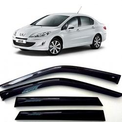 Дефлекторы боковых Окон на Пежо 408 Седан - Peugeot 408 Sd 2012-2015